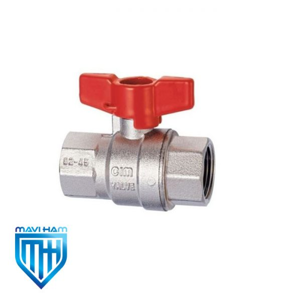 شیر گازی دسته کلیدی سیم ایتالیا مدل Cim 316NPT