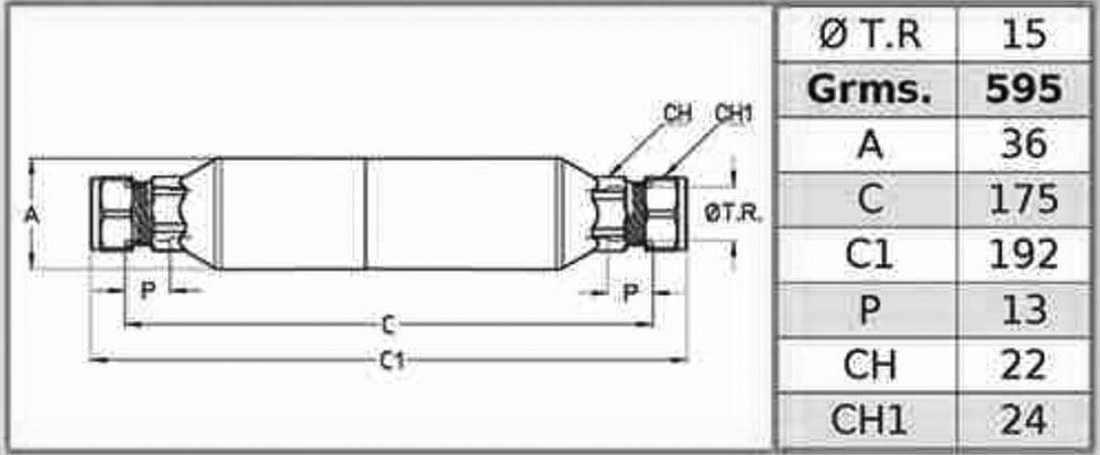 سختی گیر الکترونیکی با مهره مشخصات فنی سیم ایتالیا مدل CIM 2501