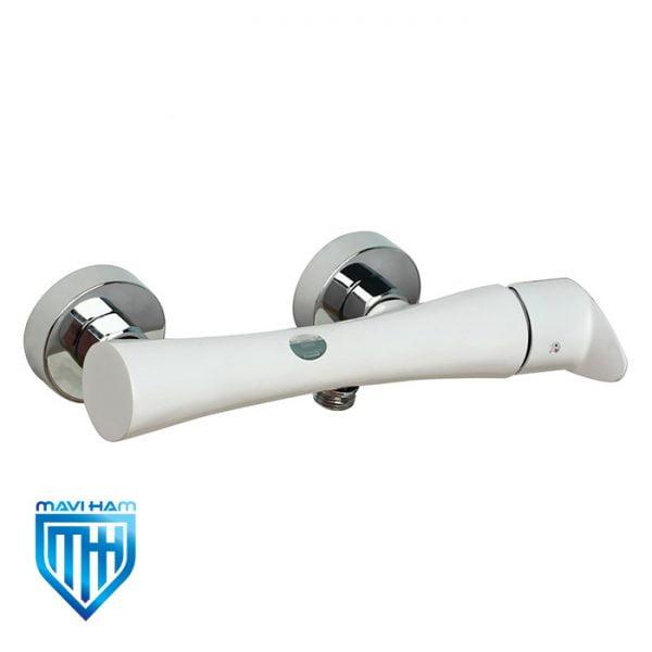 شیر توالت یا آفتابه راسان مدل آتیس سفید