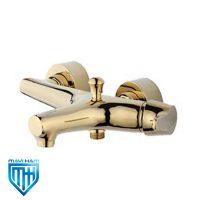 شیر حمام تپس مدل نیچر طلایی