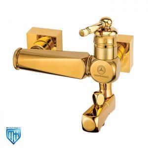 شیر دوش حمام قهرمان مدل ارس طلایی