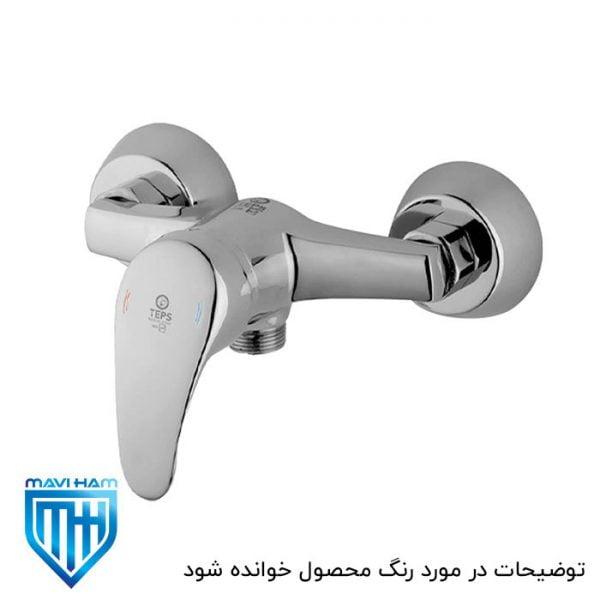 شیر توالت تپس گلدیس سفید طلایی