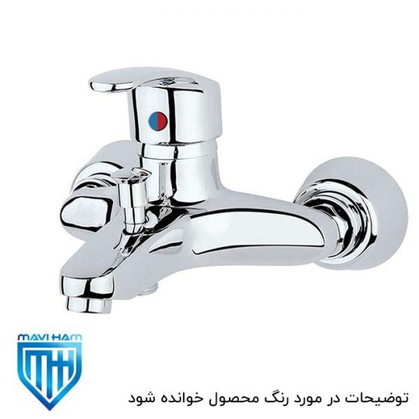شیر حمام سفید طلایی هلیا تپس