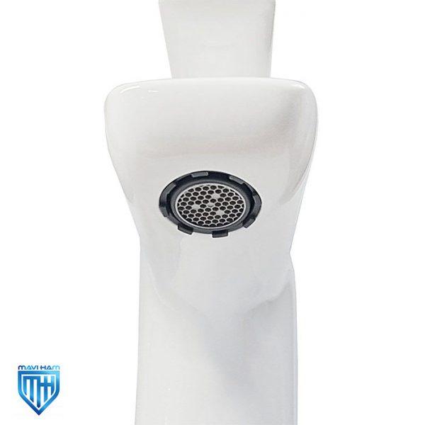قیمت شیر روشویی کی دبلیو سی مدل ریتا سفید