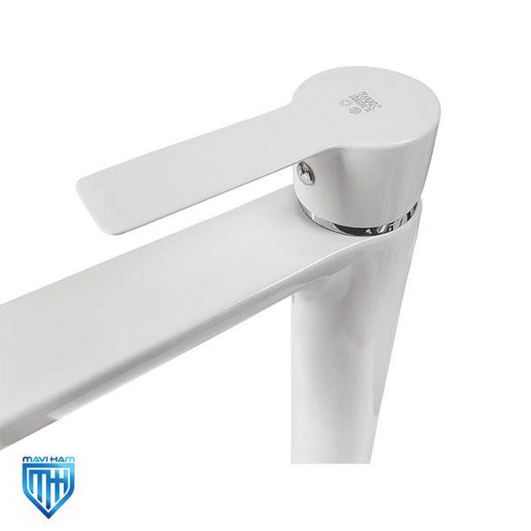 ویژگی های شیر روشویی پایه بلند کی دبلیو سی مدل ریتا سفید