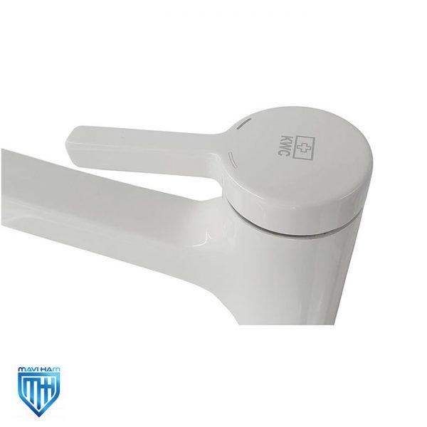 شیر روشویی یا توکاسه پایه بلند آوا سفید کی دبلیو سی (KWC)