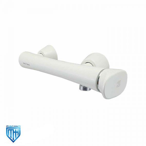 شیر آفتابه یا توالت ورونا سفید کی دبلیو سی (KWC)